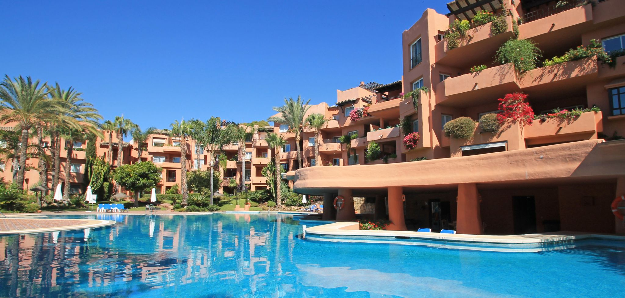 Two bedroom apartment within walking distance from the beach in Marbella