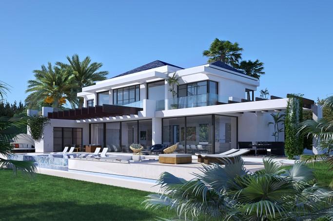 Villa, ref: 448 for sale in La Alqueria, Marbella West