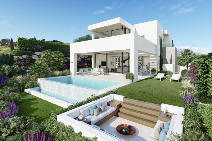Villa, ref: 1022 for sale in Estepona golf, Marbella West