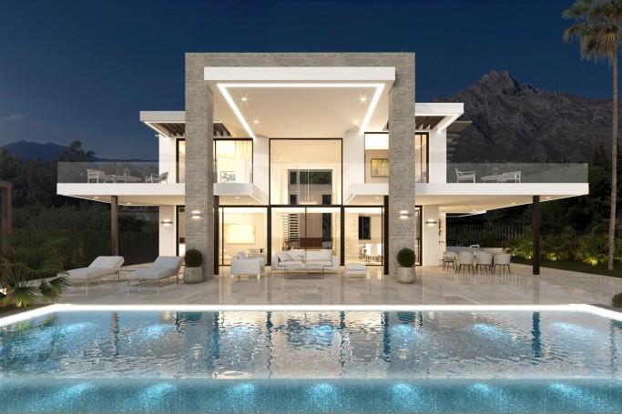 Villa, ref: 258 en venta en Lomas de Puente Romano, Marbella Milla de Oro