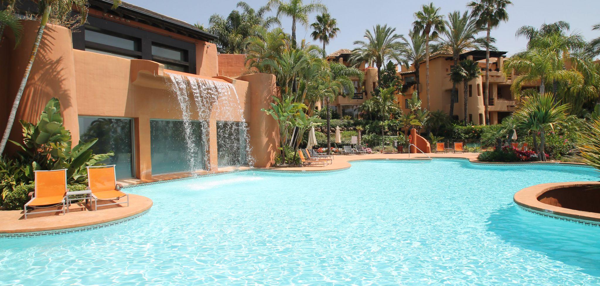 Apartamento de tres dormitorios en la Milla de Oro de Marbella
