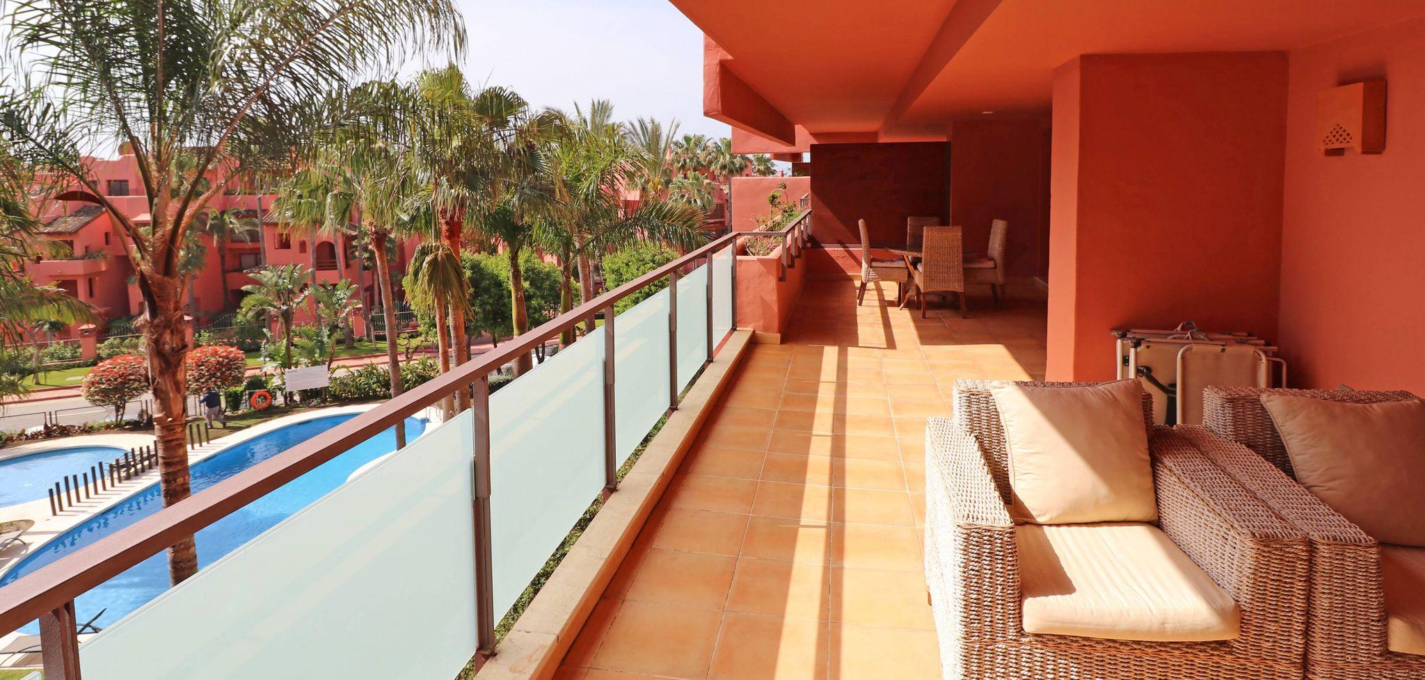 Apartamento en segunda línea de playa en la Nueva Milla de Oro